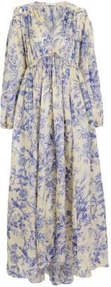 Zimmermann Verity Crepe Silk Floral Dress