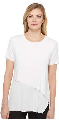 Michael Stars Jersey Double Layer Tee Women's T Shirt