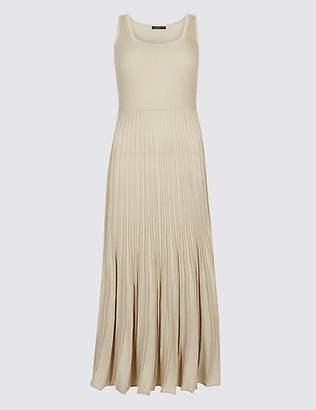Limited Edition Textured Scoop Neck Jumper Dress