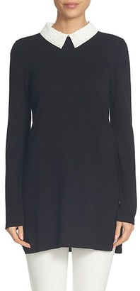Women's Cece Embellished Collar Tunic $109 thestylecure.com