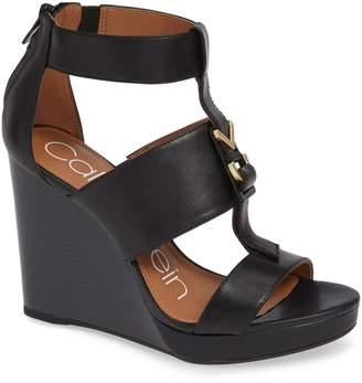 Calvin Klein Racquel Wedge Sandal