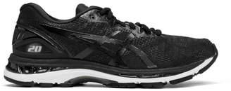 Asics Black and White Gel-Nimbus 20 Sneakers