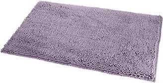 AmazonBasics Non-Slip Microfiber Shag Bath Rug