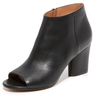 Maison Margiela Leather Booties $860 thestylecure.com