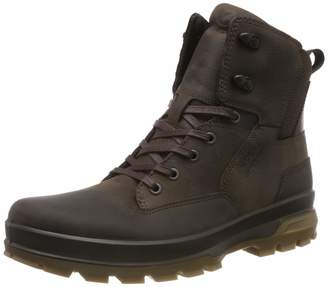 Ecco Men's Rugged Track High Rise Hiking Shoes