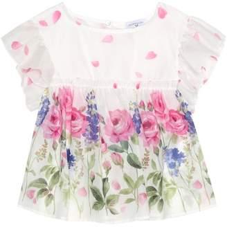 MonnaLisa Floral cotton top