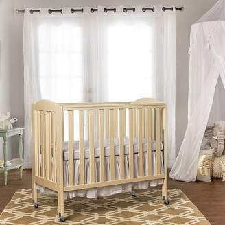 Dream On Me Folding Portable Crib with Mattress