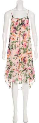 Charles Henry Sleeveless Midi Floral Dress w/ Tags