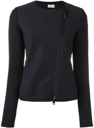 Moncler quilted front cropped jacket