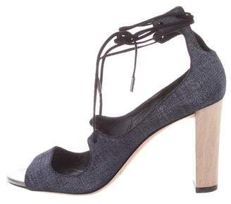 Jimmy Choo Vernie Lace-Up Sandals