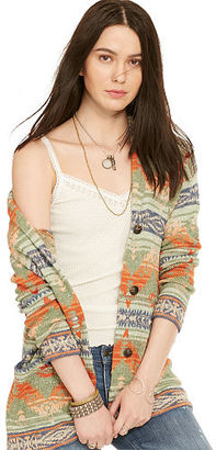 Ralph Lauren Denim & Supply Southwestern Shawl Cardigan $145 thestylecure.com