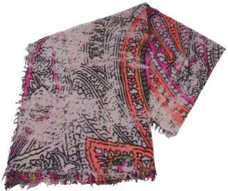 Fraas /Purple/Orange Wool Scarf
