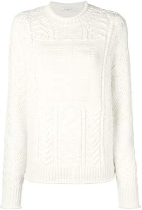 Givenchy logo knitted jumper