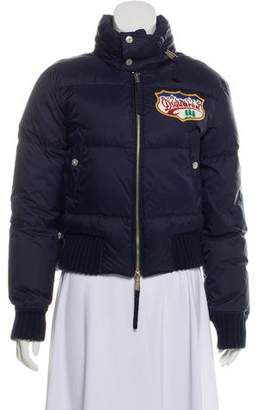 DSQUARED2 Graphic Logo Down Jacket
