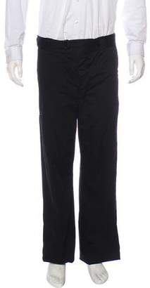 Prada Flat Front Chino Pants