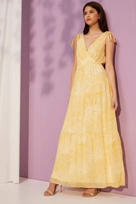 Vila Womens Sleeveless Maxi Dress - Yellow