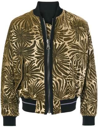 Haider Ackermann jacquard bomber jacket