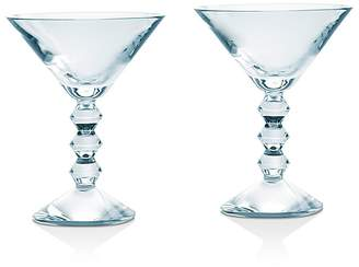 Baccarat Vega Martini Glass, Set of 2