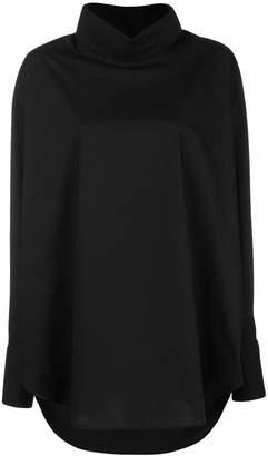 MM6 MAISON MARGIELA funnel neck shirt