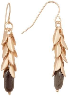 Joe Fresh Metallic Drop Earrings