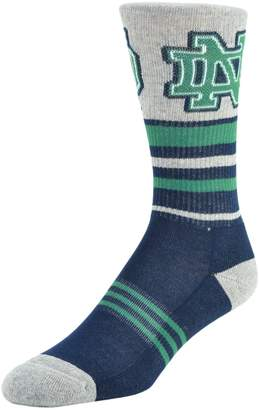 NCAA Men's Mojo Notre Dame Fighting Irish Walk the Line Crew Socks