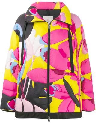 Moncler (モンクレール) - Moncler フローラル パデッドジャケット