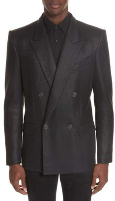 Givenchy Double Breasted Wool Blazer