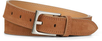 Donald J Pliner FRANCO, Tumbled Nubuck Leather Belt
