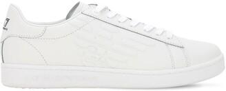 Emporio Armani Ea7 Classic Leather Sneakers