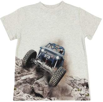 Molo Off Road Printed Cotton Jersey T-Shirt