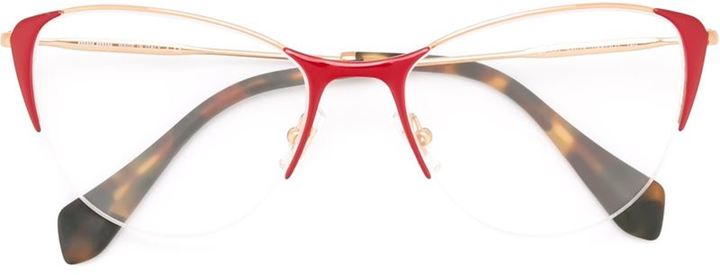 Miu MiuMiu Miu Eyewear cat eye frame glasses