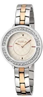 Furla Club Stainless Steel Bracelet Watch