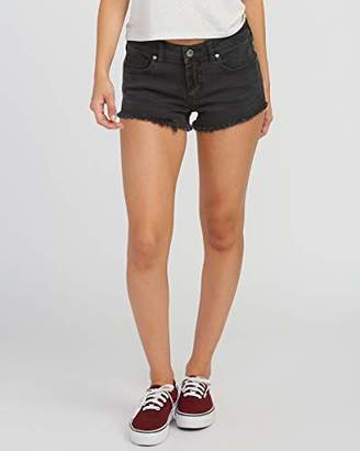 RVCA Junior's Hello Mellow Denim Jean Short