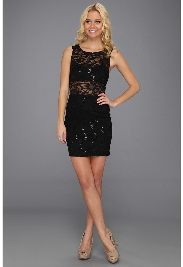 Type Z Lalinda Dress (Black) - Apparel