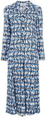 Prada long print dress