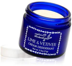 Captain Blankenship Lime Vetiver Cream Deodorant