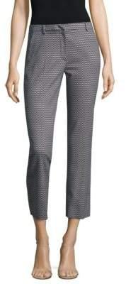 Max Mara Printed Cropped Pants