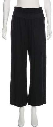 Ann Demeulemeester High-Rise Wide-Leg Pants
