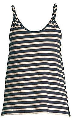 Current/Elliott Women's The Twisted Stripe Tank Top