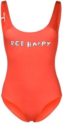 Ganni bee happy swimsuit