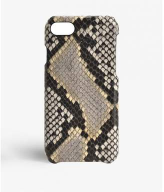 Factory The Case Iphone 7-8 Python Multicolor Grey-beige