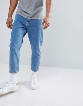 ONLY & SONS Cropped Balloon Fit Jeans