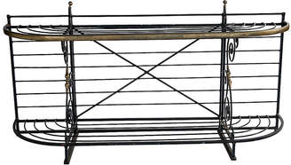 One Kings Lane Vintage French Metal Baker's Rack - Madcap Cottage