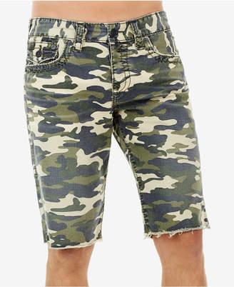 True Religion Men's Ricky Camo-Print Shorts
