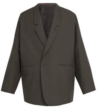 Sasquatchfabrix - Wool Blend Jacket - Mens - Charcoal