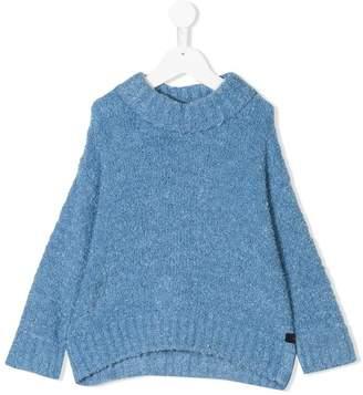 Tiny Cottons fluffy mock neck sweater