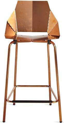 Blu Dot Blu Dot Copper Real Good Counterstool
