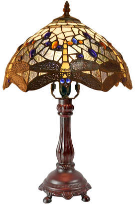 Tiffany & Co. Emporium Silver Dragonfly Style Bedside Lamp
