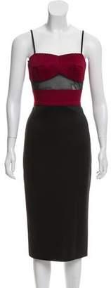 Jovani Sleeveless Knee-Length Dress
