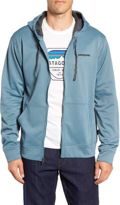 Patagonia Fitz Roy Trout PolyCycle(R) Full-Zip Hoodie